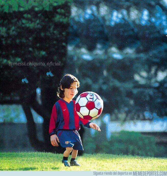 1116071 - 20 años desde la llegada de Messi Chiquito al Barça