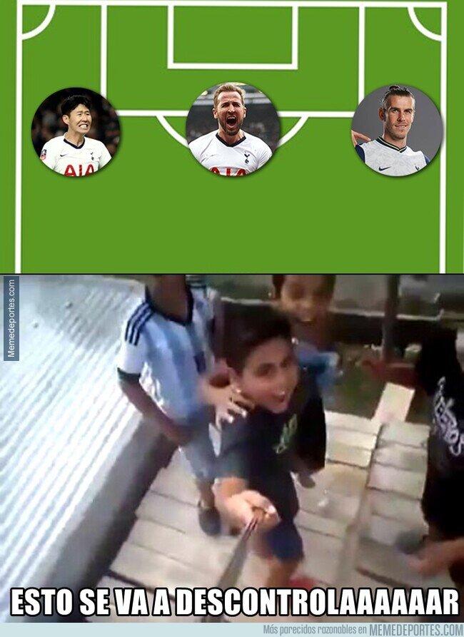 1116134 - La delantera del Tottenham puede ser una de las más letales de Europa