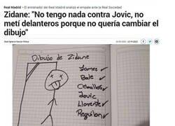 Enlace a Los dibujitos de Zidane