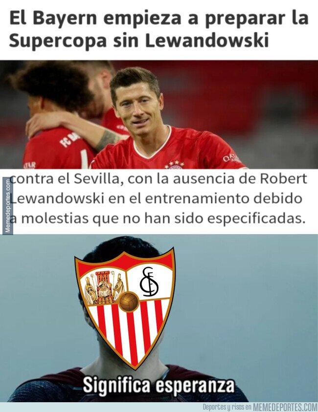 1116252 - El Sevilla podría tener una preocupación menos
