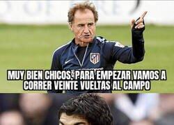 Enlace a El primer entrenamiento de Suárez con el Atlético