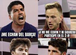 Enlace a 'A los que echan' del Barça
