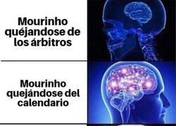 Enlace a Mourinho lleva la queja más allá