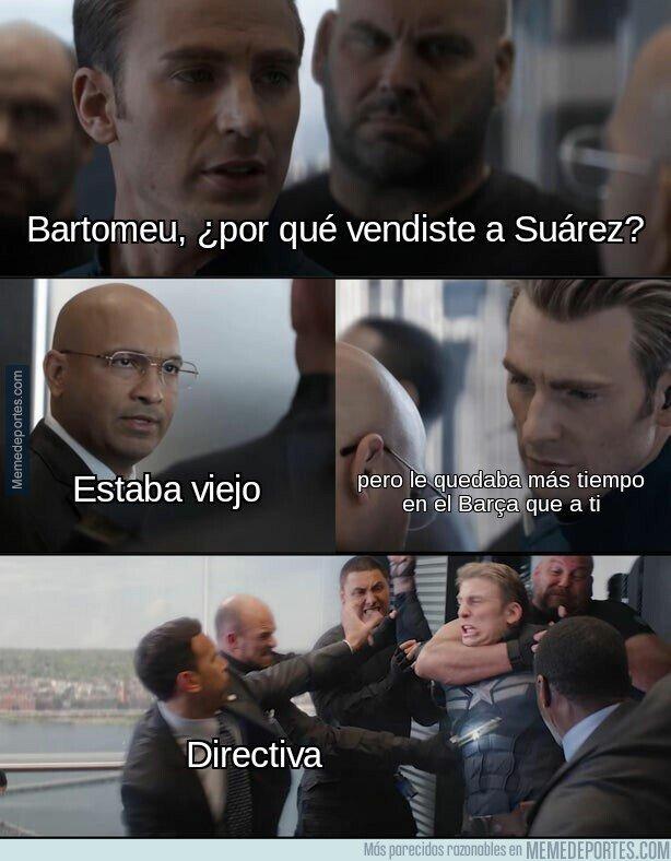 Memes del debut de Luis Suárez. 1