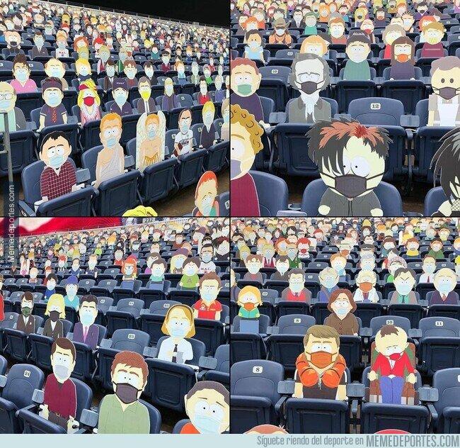 1116780 - Los Denver Broncos llenaron una grada con todos y cada uno de los personajes de South Park