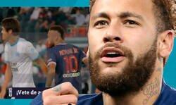 Enlace a Se filtra el vídeo en el que Neymar insulta de forma racista al jugador Hiroki Sakai en el PSG-OM