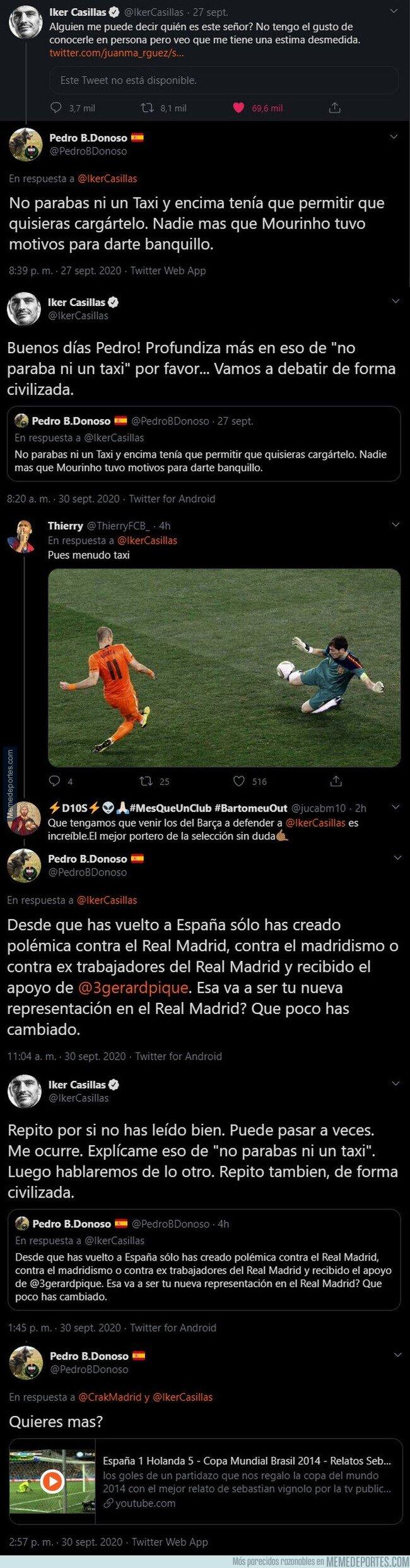 1116915 - Iker Casillas se ve envuelto en una pelea tuitera con un seguidor Madridista fanboy de Mourinho que queda realmente mal