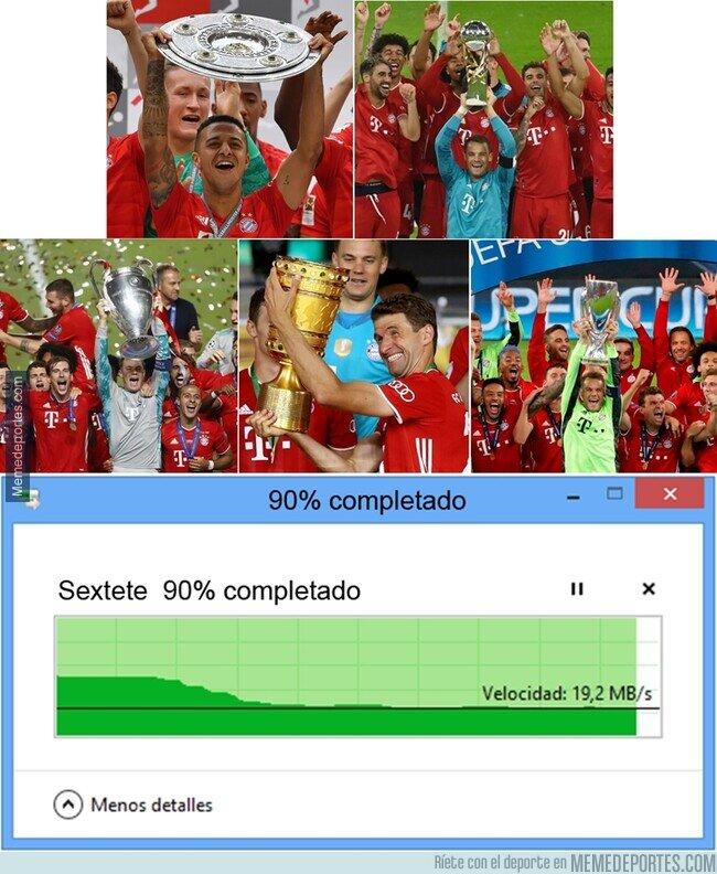 1117007 - El Bayern esta a un título de hacer historia