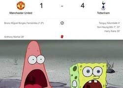 Enlace a Primer tiempo y baño al United