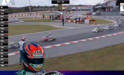 Enlace a Escándalo Mundial en el karting por lo que hace Luca Corberii en plena carrera contra otro piloto