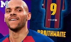 Enlace a Brutal: Las respuestas que está recibiendo el Barça tras anunciar que su '9' es Braithwaite