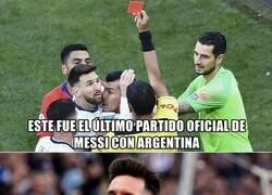Enlace a Messi regresa con la selección Argentina despues de un año
