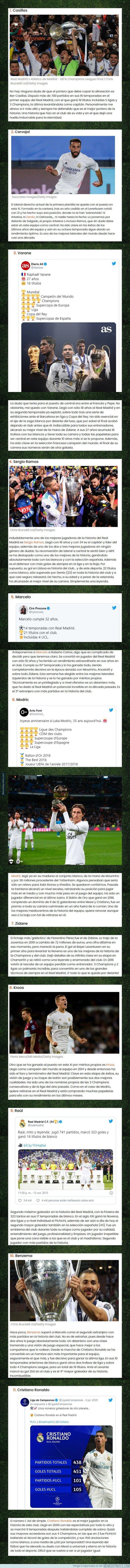 1117565 - Este es el mejor equipo e ideal del Real Madrid en el siglo XXI
