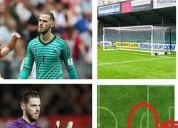Enlace a De Gea en el gol de Ucrania