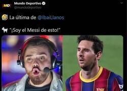 Enlace a El Lionel Messi de Among us.
