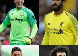 Enlace a El Everton-Liverpool, hombre por hombre