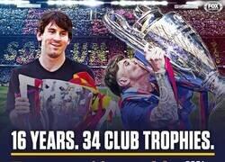 Enlace a 16 años del debut de Messi con el Barça
