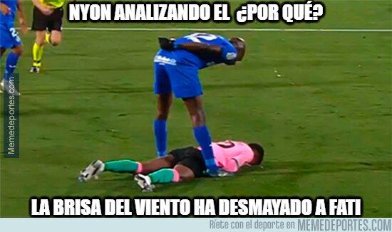 1118295 - Fati en lugar de imitar a Messi imita a Neymar, ¿Guiño al PSG?