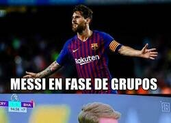Enlace a Messi en Champions