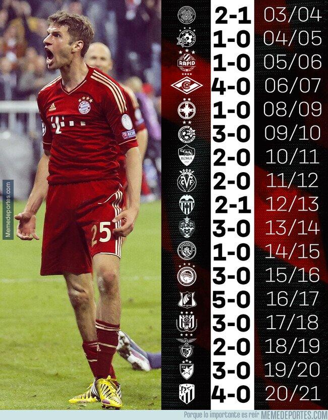 1118636 - De los últimos 17 debuts del Bayern en liga, 17 victorias.