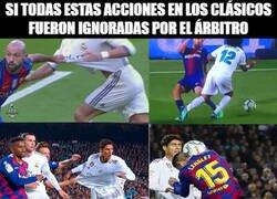 Enlace a Y después de 14 años le pitan un penalti al Madrid en el Camp Nou