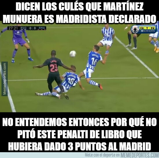 1119021 - ¿Martínez Munuera Madridista?