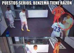 Enlace a Benzema tiene razón