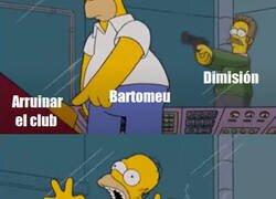 Enlace a Bartomeu se fue dejando una última noticia que podría cambiar el futbol europeo