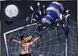 Enlace a Messi, 16 balones perdidos