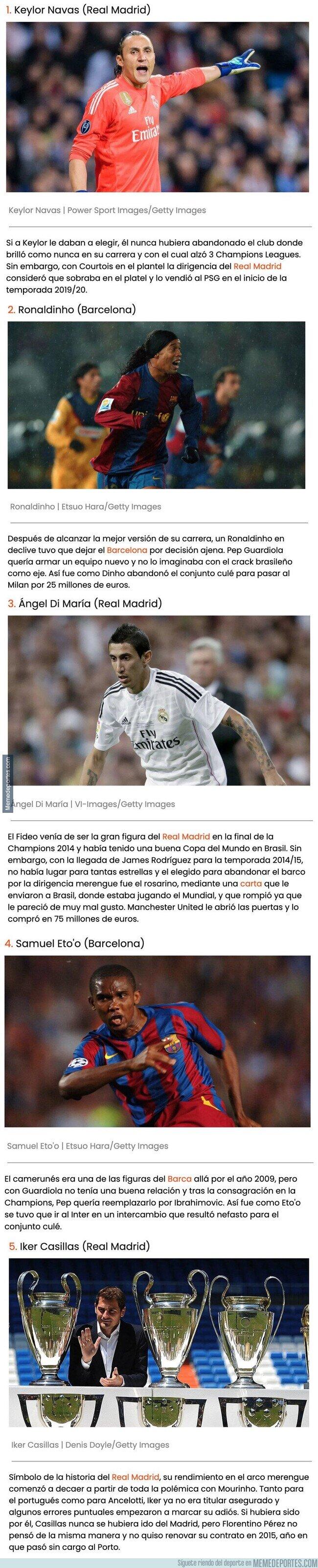 1119598 - Cracks del Real Madrid y del Barcelona que fueron vendidos contra su voluntad