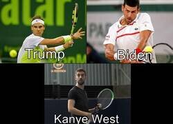 Enlace a La carrera presidencia explicada con tenistas