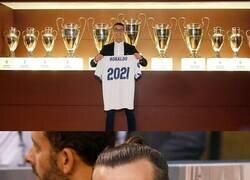 Enlace a Hoy hace 4 años, Cristiano firmaba su última renovación con el Real Madrid. 2021...