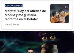 Enlace a Morata ya no sabe ni con qué equipo soñar
