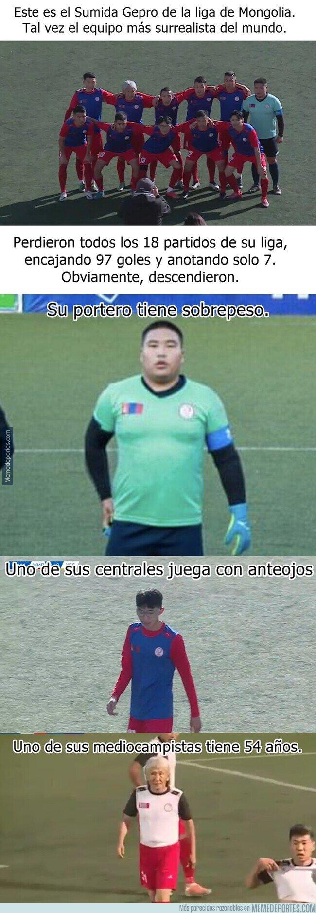 1120242 - El Sumida Gepro, el club de los rechazados.