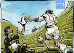 Enlace a Ramos supera a Buffon en internacionalidades, por @yesnocse