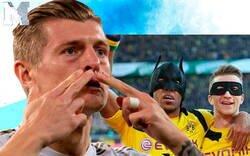 Enlace a Aubameyang está destrozando brutalmente a Toni Kroos sobre las críticas en las celebraciones