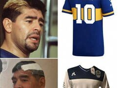 Enlace a Diego se adapta a su camiseta actual