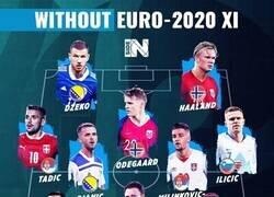 Enlace a El 11 ideal de jugadores que no veremos en la EURO2020