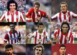 Enlace a Increíble que el Atletico Madrid haya tenido todo el tiempo varios de los mejores delanteros del mundo