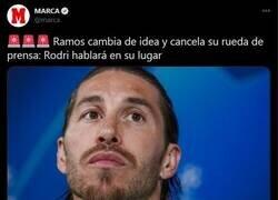 Enlace a Despues de fallar 2 penaltis y costarle 2 puntos a España, Ramos decide no dar la cara en rueda de prensa