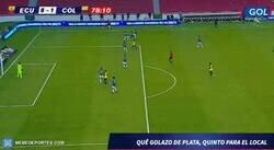 Enlace a El de Gonzalo Plata fue por lejos el mejor gol de Ecuador frente a Colombia