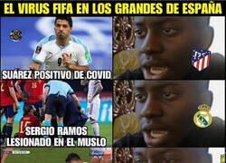 Enlace a Reforzados tras el virus FIFA