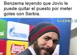Enlace a Jovic no le quita el puesto a Benzema ni si le sale pelo a Zidane.