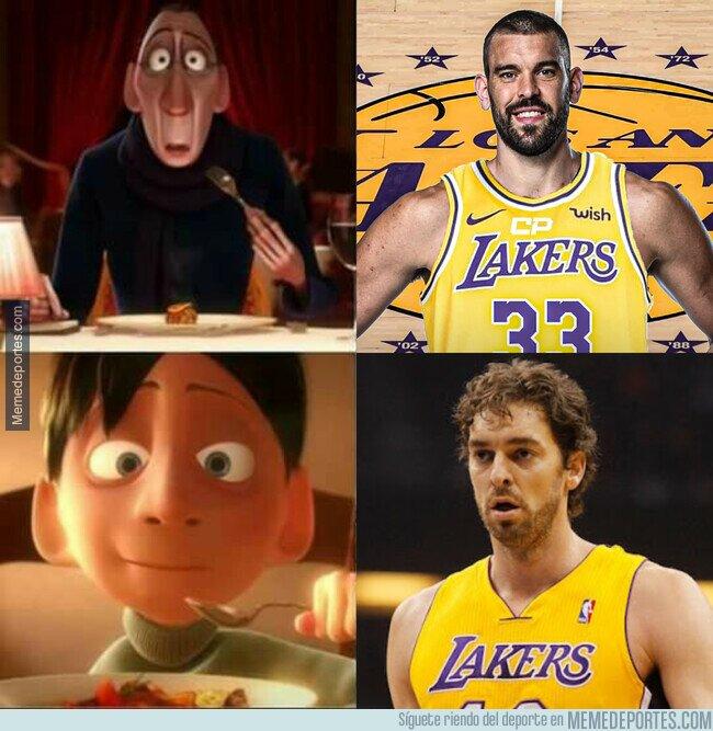 1120938 - Un Gasol en los Lakers de nuevo