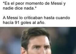 Enlace a ¿Nunca se habla de Messi?