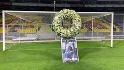 Enlace a El arco donde Maradona marcó sus 2 goles más emblemáticos le rindió este homenaje