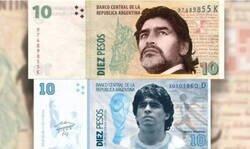 Enlace a Desde Argentina suena la propuesta de un billete con el rostro de Maradona. ¿Tú que opinas?