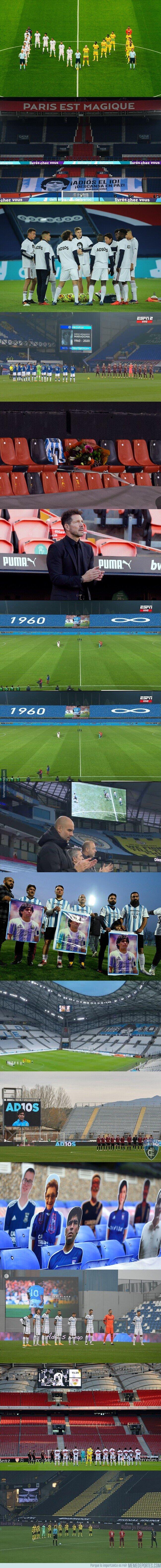 1121362 - Todo el planeta fútbol rendido a Maradona