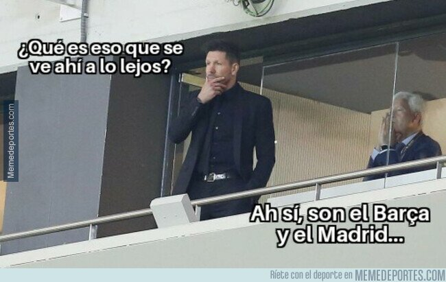 1121397 - Simeone no se ha visto en una igual