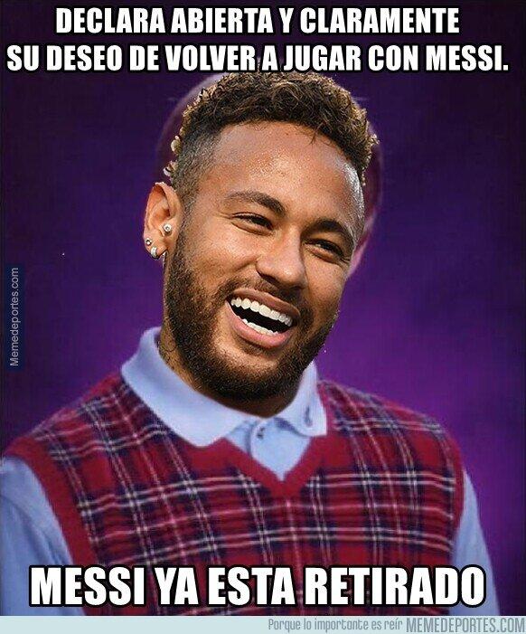 1121745 - El mal timing de Neymar